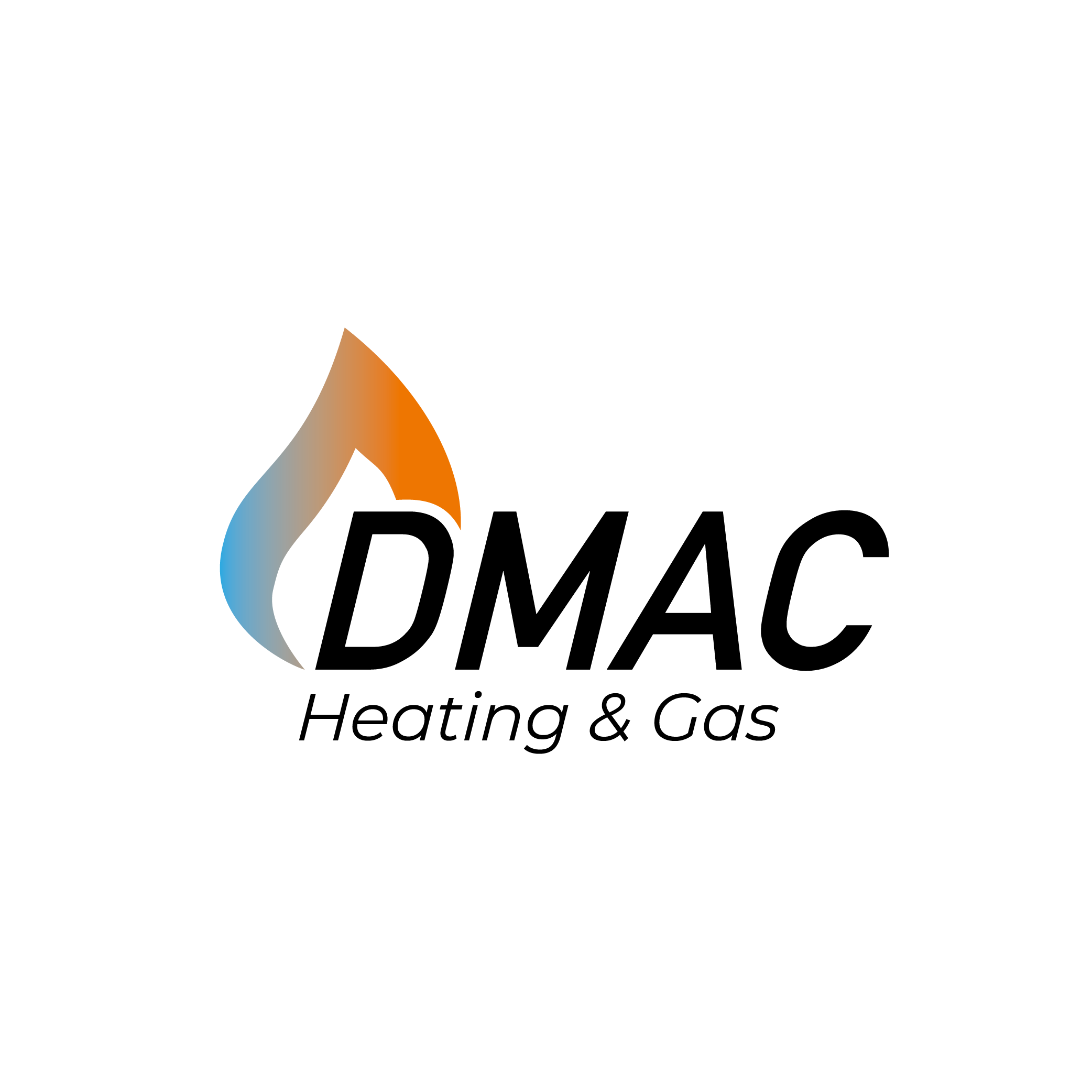 DMAC Heating & Gas main logo for Max Design Services